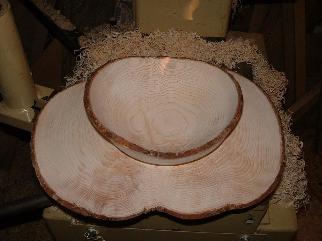 Wood Turned Bowl from The Rowell Sugarhouse in Walden, VT